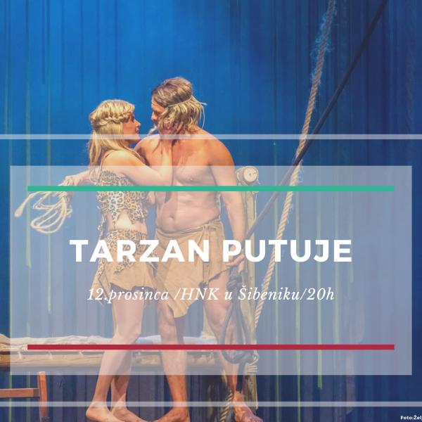 """Predstava """"Tarzan"""" putuje u Šibenik"""