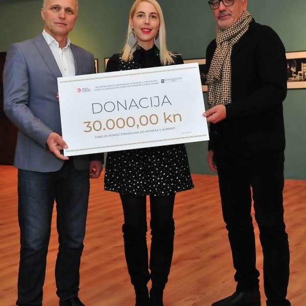 Uručena donacija stradalima od potresa u Albaniji