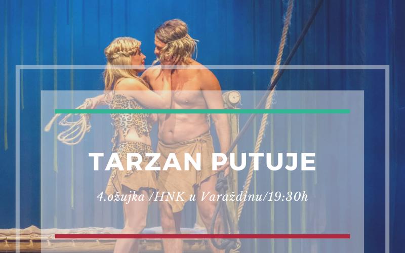 """Predstava """"Tarzan"""" putuje u Varaždin"""