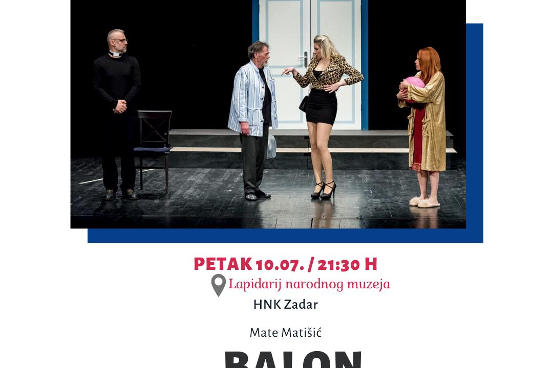 """""""BALON"""" NA 26. ZADARSKOM KAZALIŠNOM LJETU"""