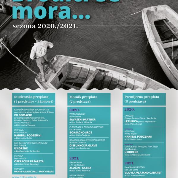 UPIS PRETPLATE /SEZONA 2020./2021.